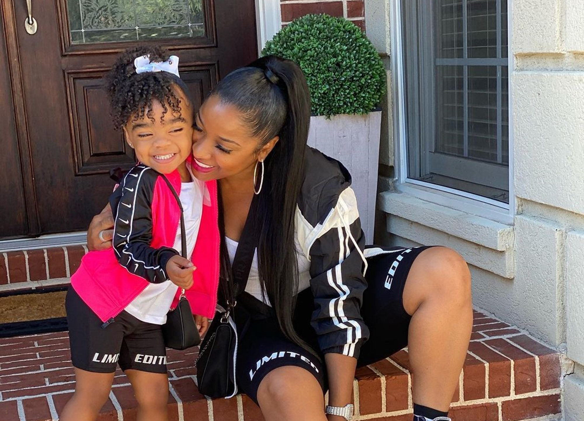 """toya-johnson-posts-cute-photos-with-daughter-reign-rushing-fans-defend-duo-after-critics-slammed-childs-looks"""