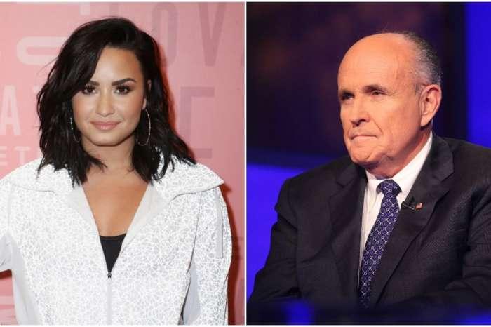 Demi Lovato Mocks Rudy Giuliani's Excuse For Compromising Borat 2 Scene With 'Teen' Actress