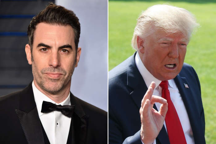 Sacha Baron Cohen Dubs Donald Trump As A 'Racist Buffoon' And More After The POTUS Insults Him
