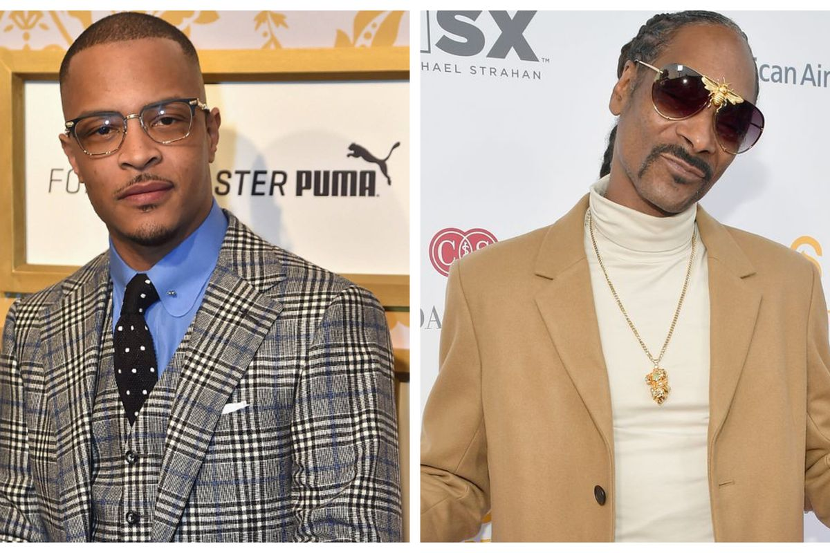 T.I. Is Celebrating Snoop Dogg's Birthday - See The Photos He Shared Of Them