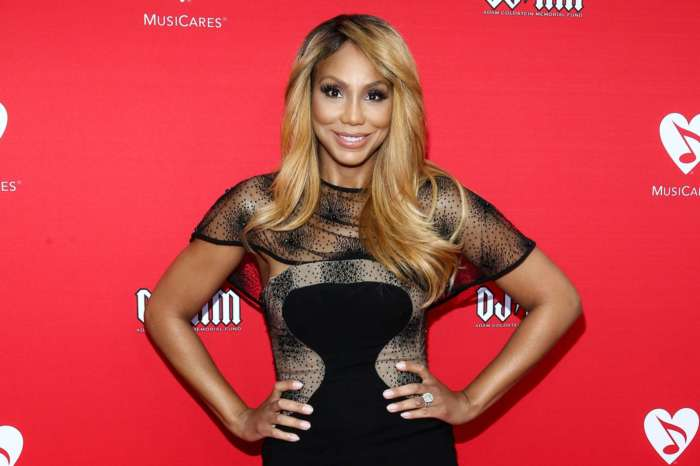 Tamar Braxton Films Herself In Bed, Wearing Only Lingerie And Fans Are Happy To See Her Shining