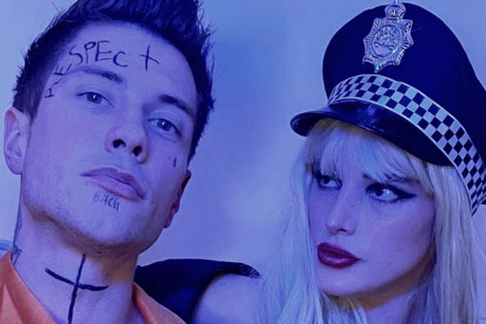 Bella Thorne Licks A Gun As She Dresses Up As A Cop For Halloween And Breaks Her Boyfriend Out Of Jail