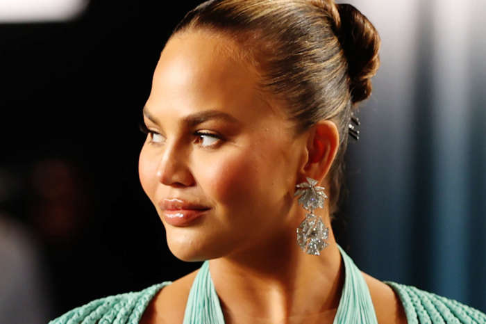 Chrissy Teigen Drags GAP Over Half Blue, Half Red Hoodie Celebrating 'Unity' 'Too Soon' After The Election!