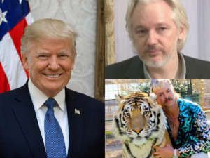 After Mike Flynn, Donald Trump Besieged With Requests To Pardon Julian Assange And Tiger King Joe Exotic