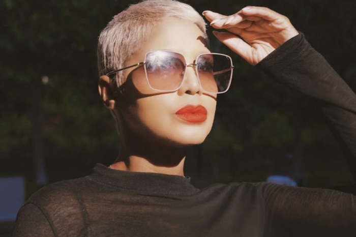 Toni Braxton Looks Gorgeous With Short Blonde Hair - See Her Clip