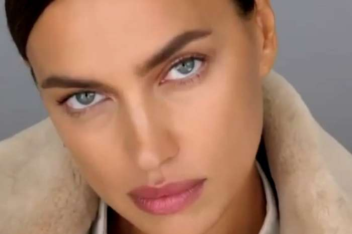 Irina Shayk Wears Kim Kardashian's Skims Velour Tracksuit With Knee-High Boots — Check Out The Look
