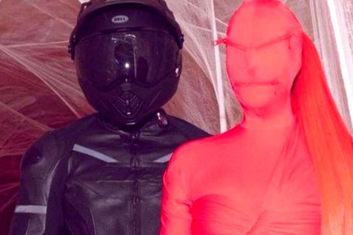 Kim Kardashian's Freaky Alien Costume Was Actually A Balenciaga Gown — See The Look