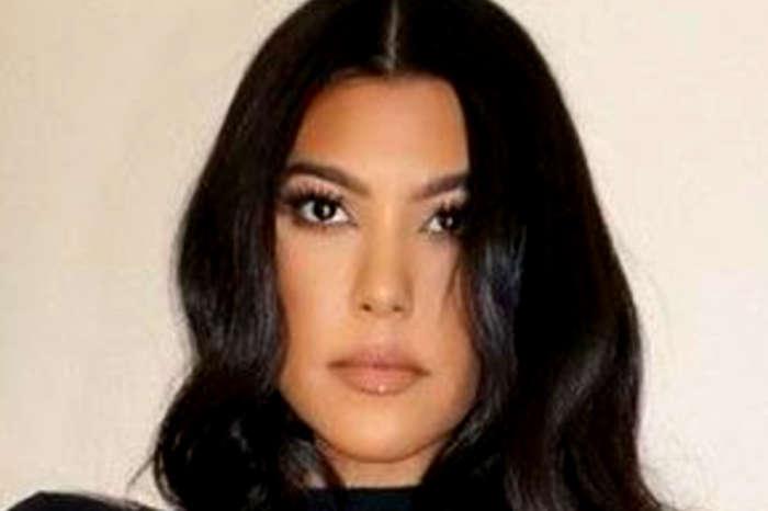 Kourtney Kardashian Promotes Conspiracy Theory That Face Masks Cause Cancer