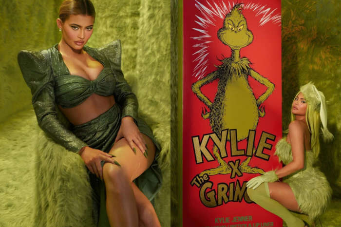 Kylie Jenner Wears LA Roxx And Balmain As She Becomes The Voluptuous  Grinch's Wife — Watch Video