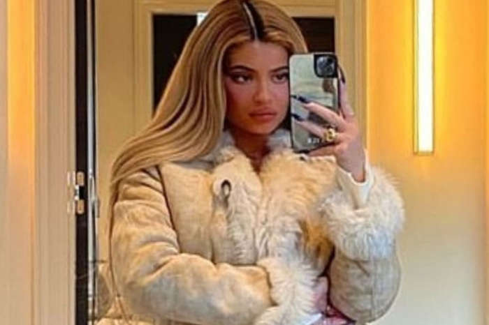 Kylie Jenner Is Beautiful In Vintage Tom Ford, Gucci Coat
