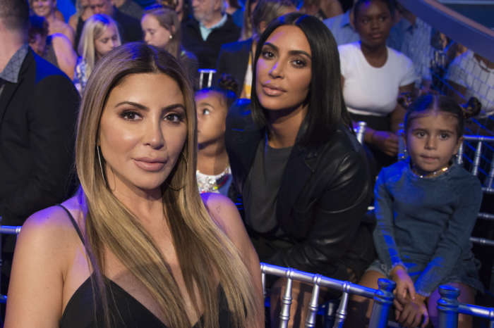 Source For Kim Kardashian Tells Why She Dropped Larsa Pippen: 'She Was Talking Behind Their Backs'