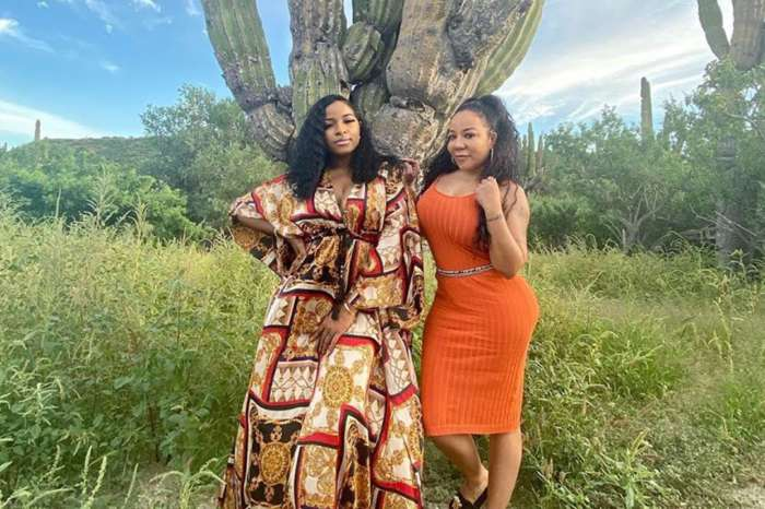 Toya Johnson And Tiny Harris Posed Together And They Look Bomb