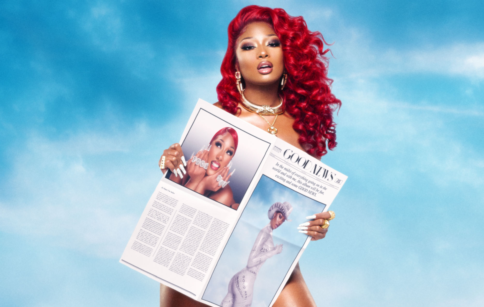 Megan Thee Stallion Is Named GQ Magazine's Rapper Of The Year