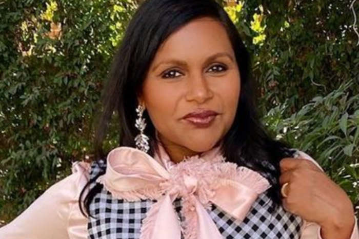 Mindy Kaling Is Striking In Asymmetrical Rosetta Getty Outfit — See The Look