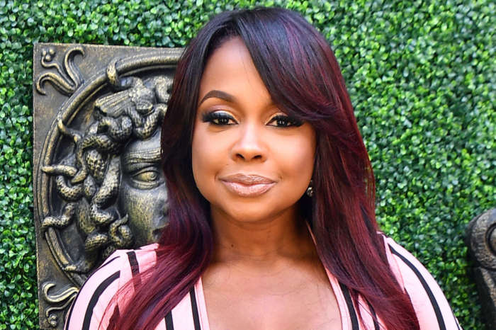 Phaedra Parks Shows Off Her Juicy Curves In This Peachy Skin-Tight Dress - See Her Classy Look