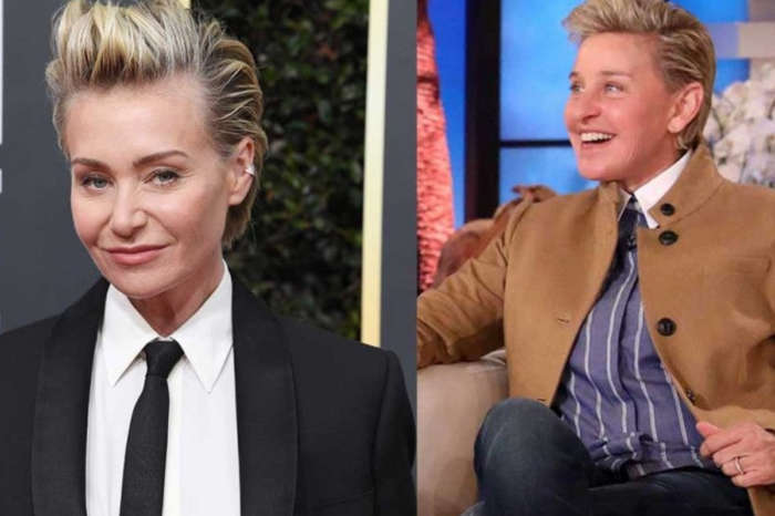 Portia De Rossi Reveals Long Hair After Ellen DeGeneres Copies Her Hairstyle
