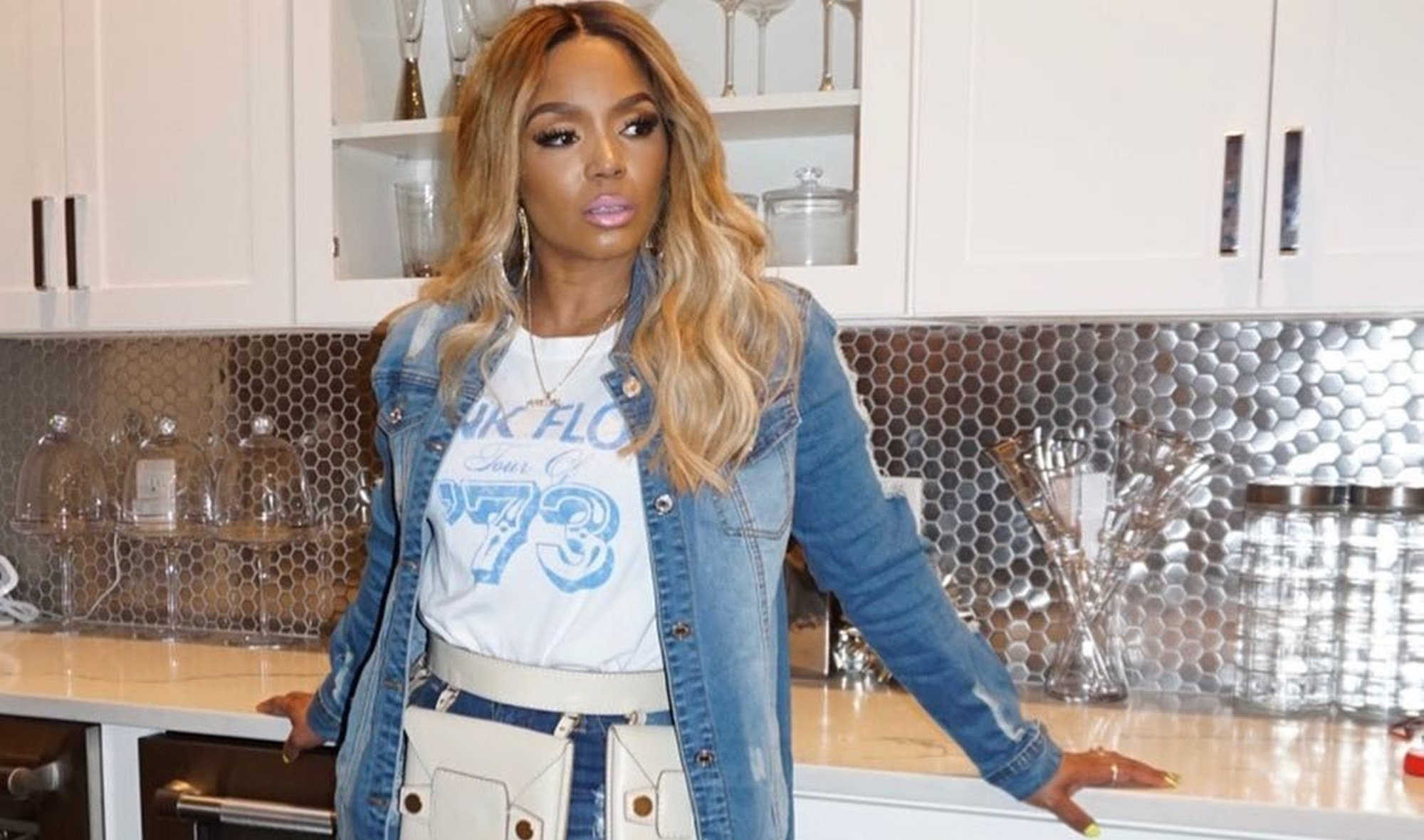 Rasheeda Frost Shares A Fun Workout Video - See Her Clip