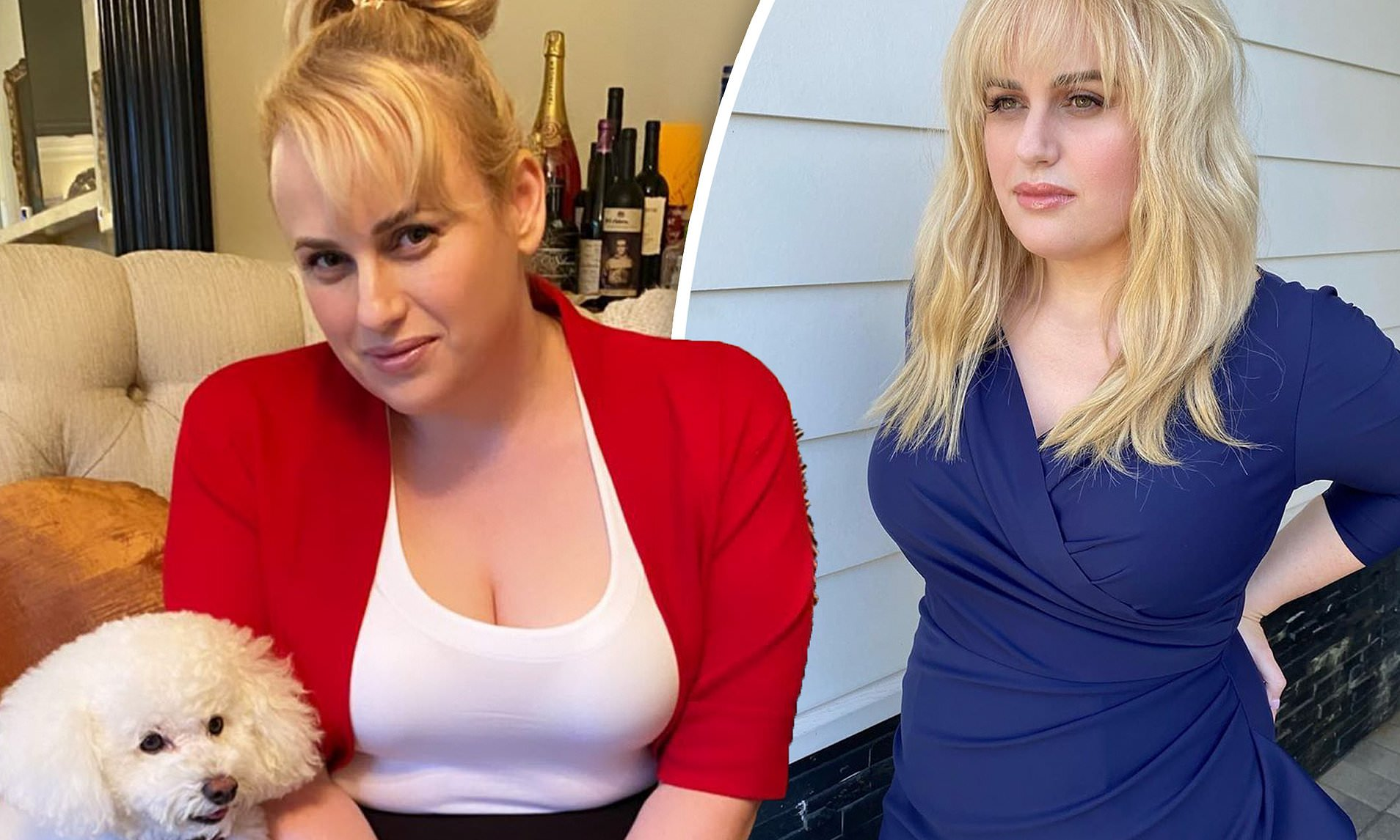 Rebel Wilson hits weight loss goal