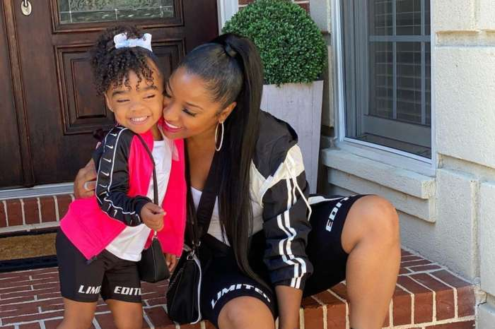 Toya Johnson's Video Featuring Baby Reign Rushing Has Fans In Awe - See Her Dancing!