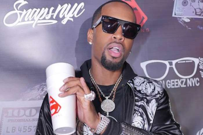 Safaree Is Improvising For His Abs Routine - Check Out What He's Using In These Videos