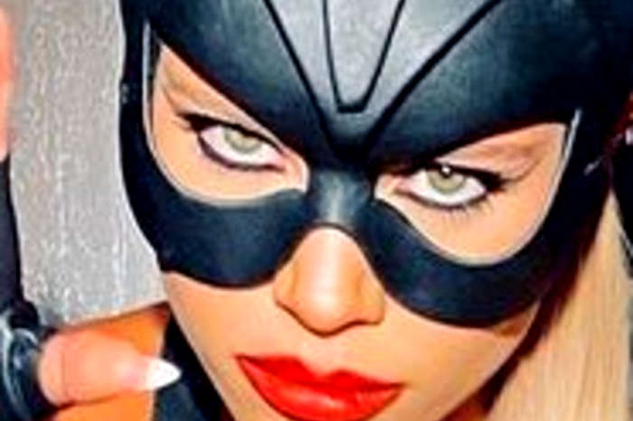Sofia Richie Wears Skimpy Catwoman Costume To Kendall Jenner's Halloween/Birthday Party