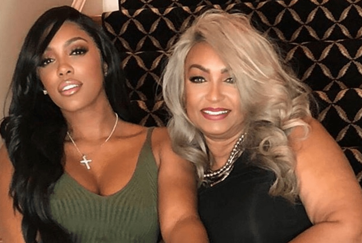 """porsha-williams-shares-a-sneak-peek-to-her-podcast-with-her-mom-and-sister"""