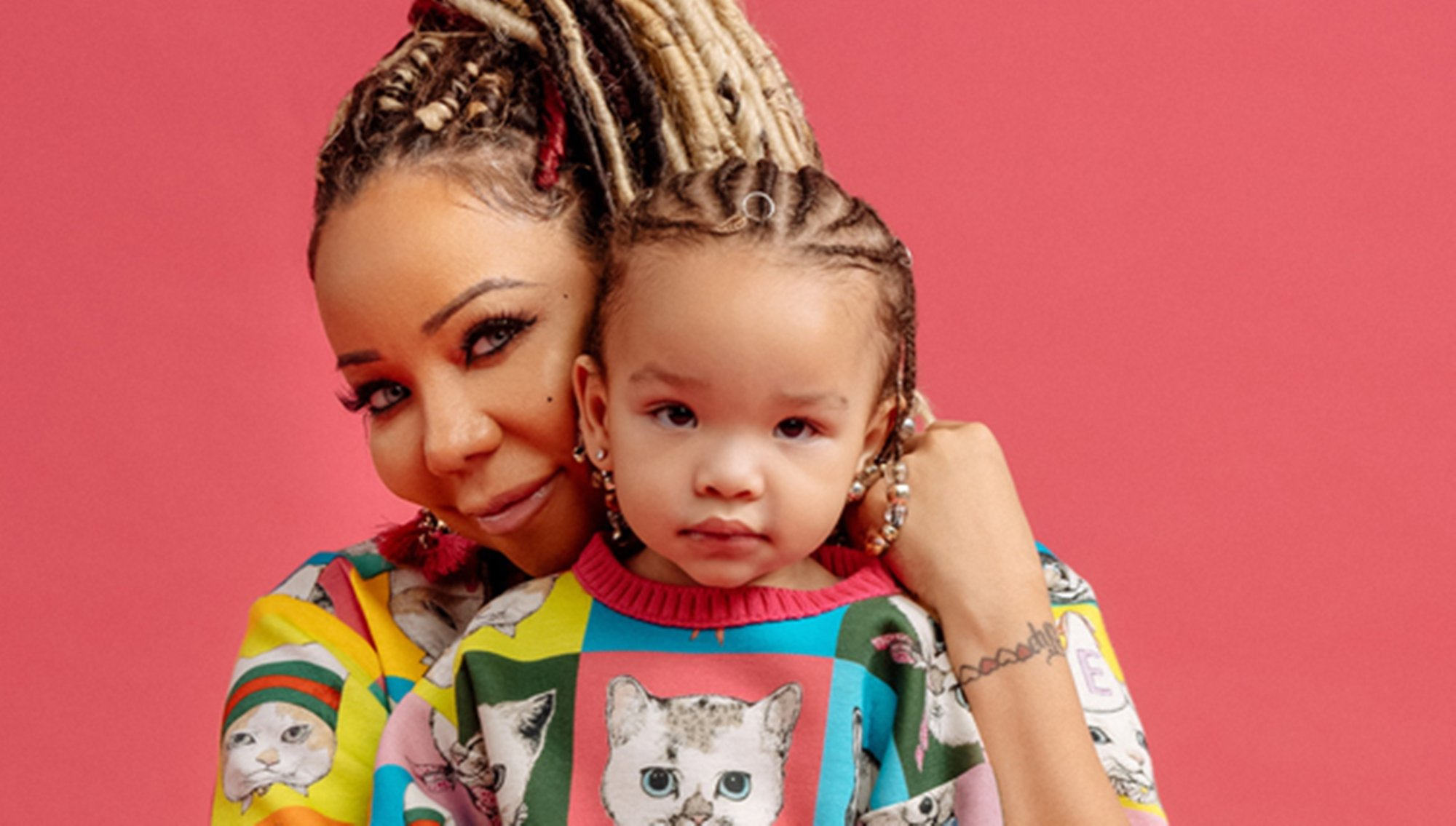 Tiny Harris Shares A Halloween Photo Featuring Heiress Harris
