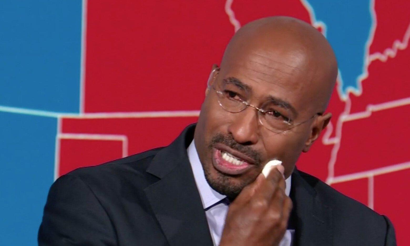 CNN's Van Jones cries on air after Joe Biden declared victor