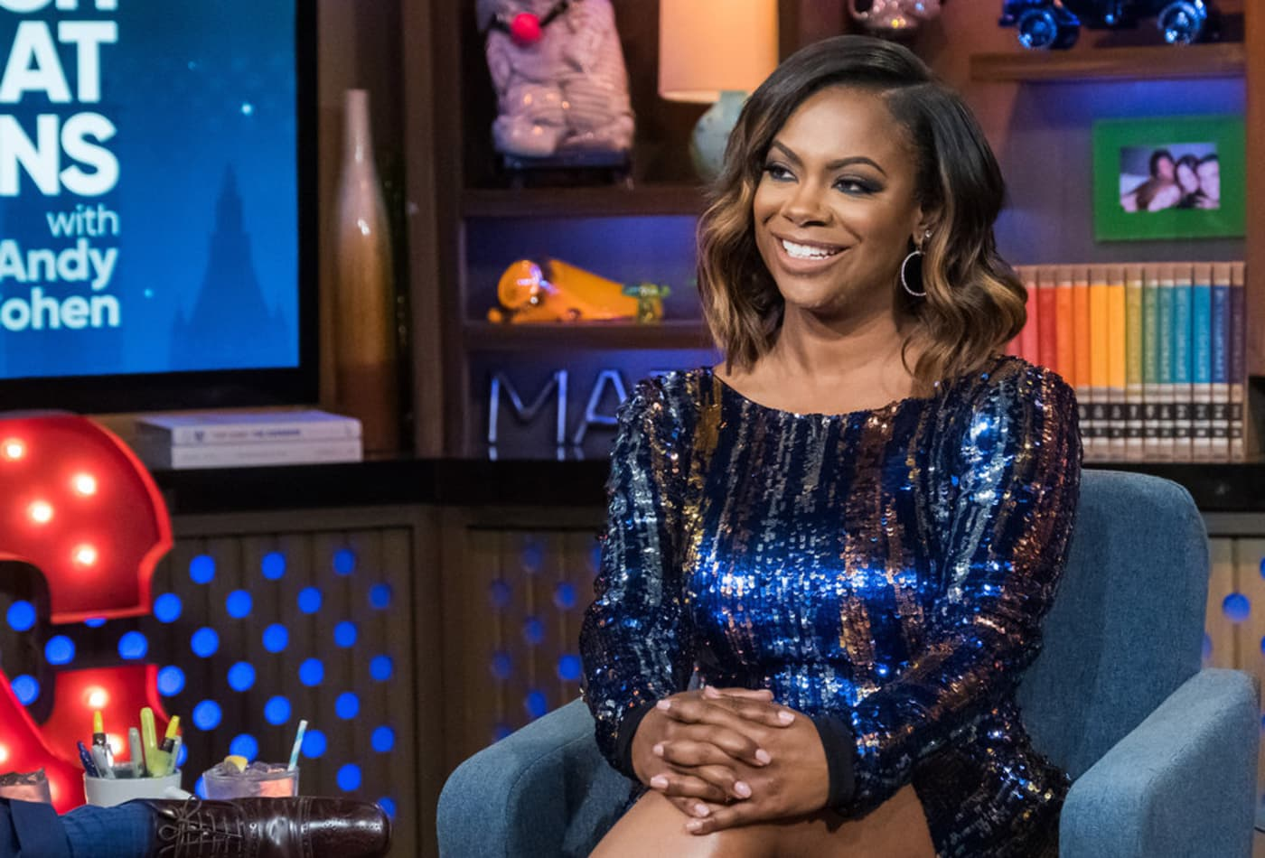 Kandi Burruss Doesn't Let Ace Wells Tucker Miss Out On Story Time With Mama Joyce - See The Video