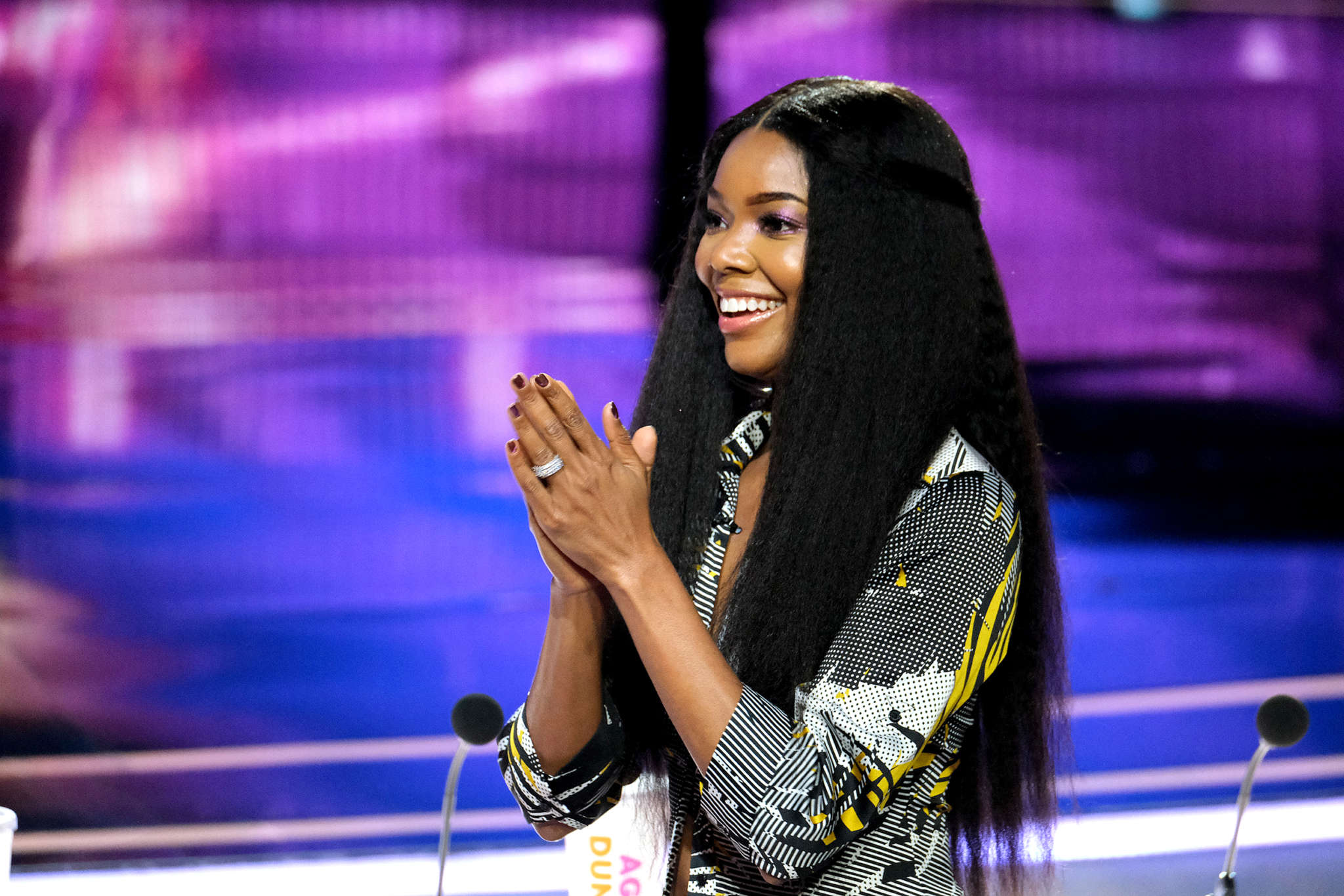 Gabrielle Union Shares A TikTok Video With Kaavia James And Impresses Fans