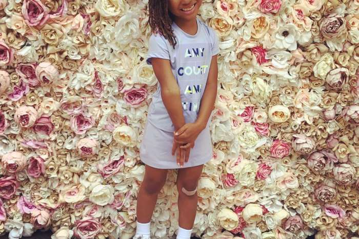 Eva Marcille's Daughter, Marley Rae Looks Gorgeous As Santa's Little Helper