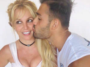 Britney Spears Shares Loved Up Photos With Boyfriend Sam Asghari As She Drops New Music On Her Birthday — Listen To Swimming In The Stars Now