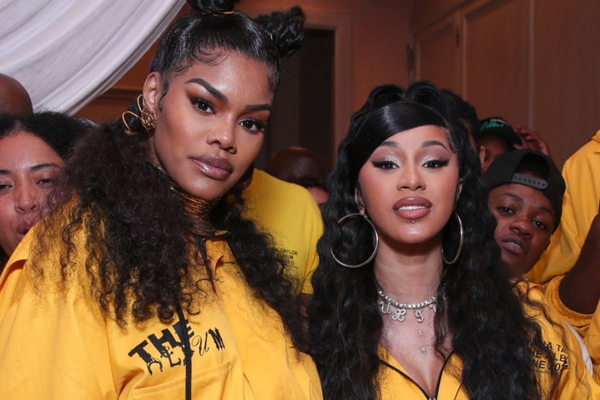 cardi-b-shows-love-to-teyana-taylor-after-she-announces-her-retirement-says-her-album-was-her-favorite-of-2020
