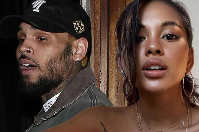 Chris Brown Can't Stop Drooling Over Hot Ammika Harris In A Tight Crop Top - 'DAMN GIRL!'