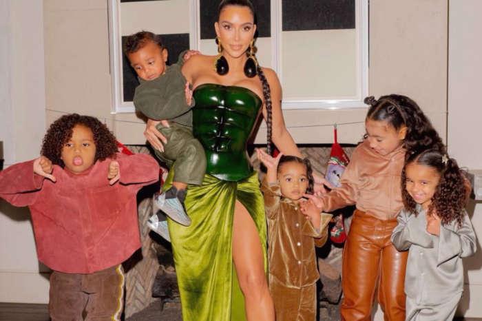 Kanye West Missing From Kim Kardashian's Family Christmas Photos