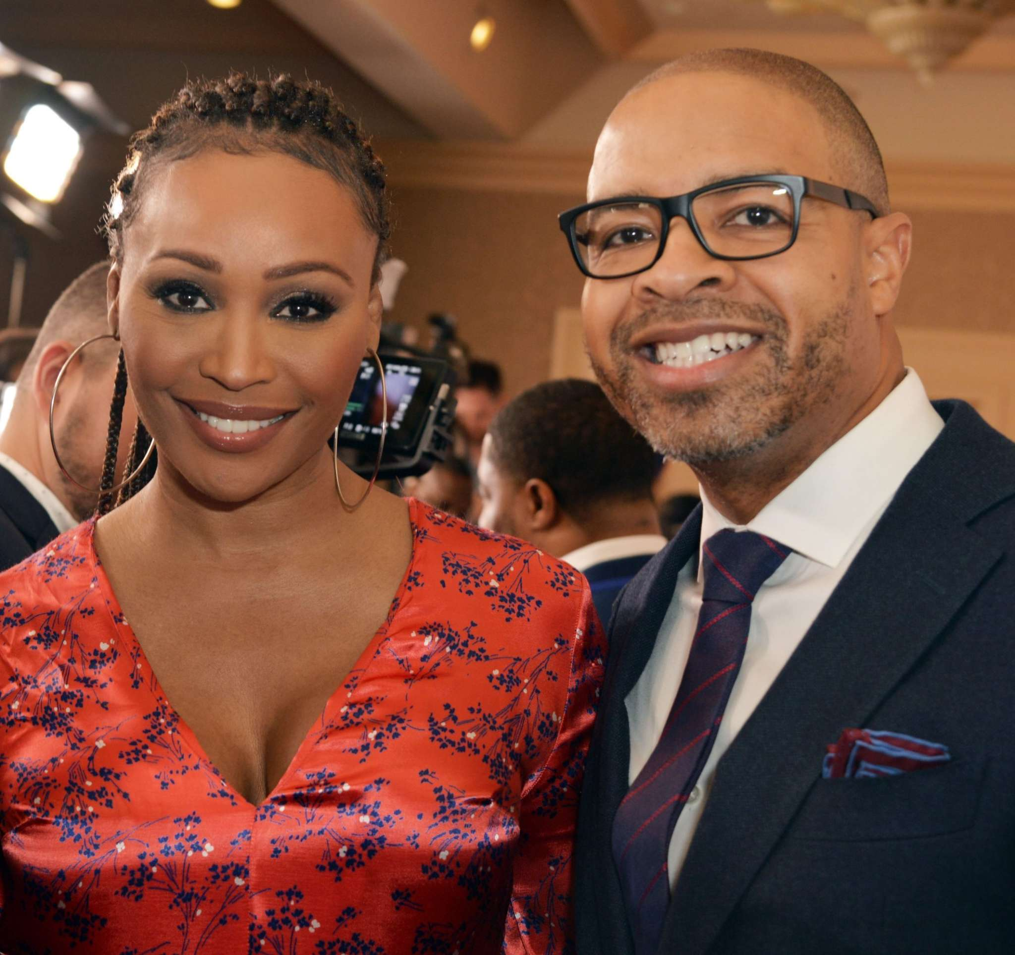 Cynthia Bailey Looks Radiant While Flaunting Her Natural Look With Mike Hill