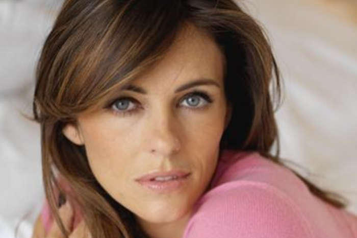 Elizabeth Hurley Poses In A Red Bikini And Puts Her Age-Defying Body On Display For Christmas Card