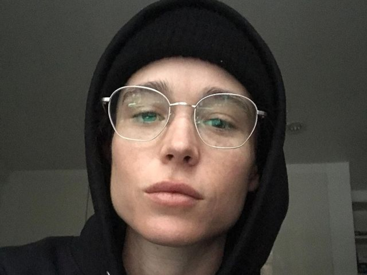 Elliot Page Shares First Selfie Since Coming Out as Transgender