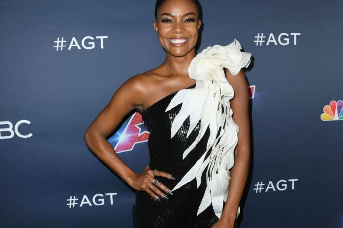 Gabrielle Union Shows Off Her Curves At The Gym - See Her Clip