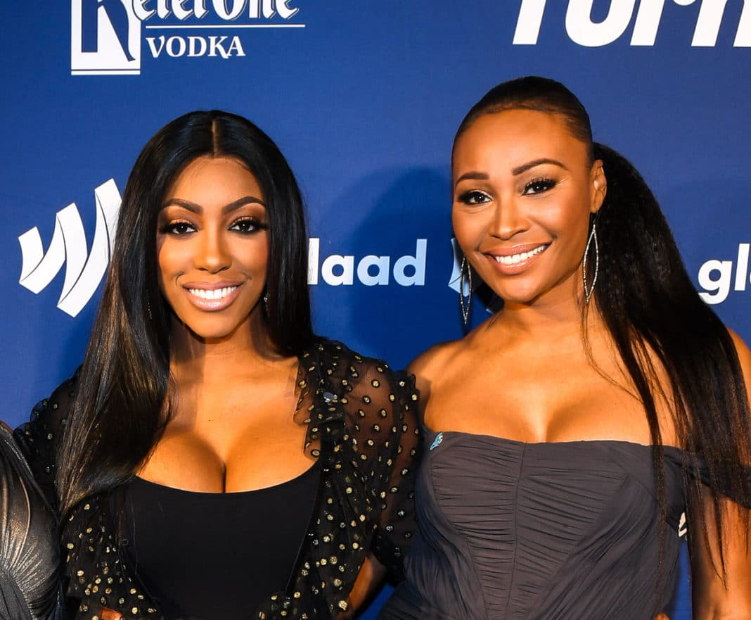Porsha Williams Supports Cynthia Bailey's Message - See The Video
