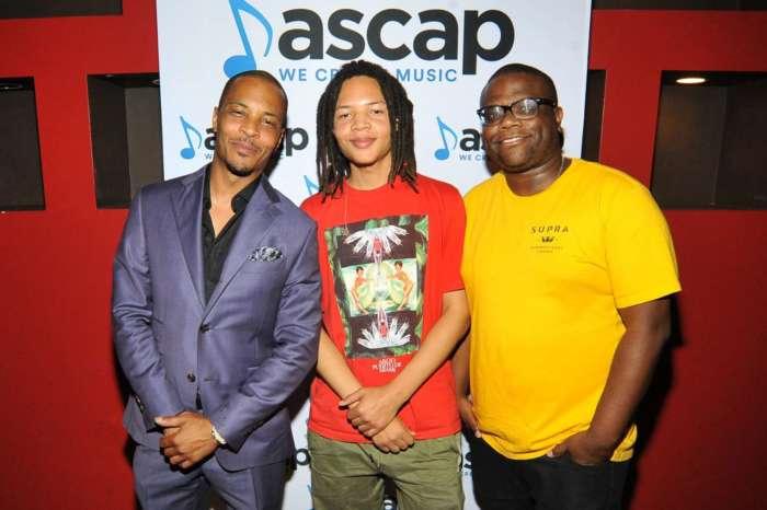 T.I. Promotes His Son, Domani Harris' New Music