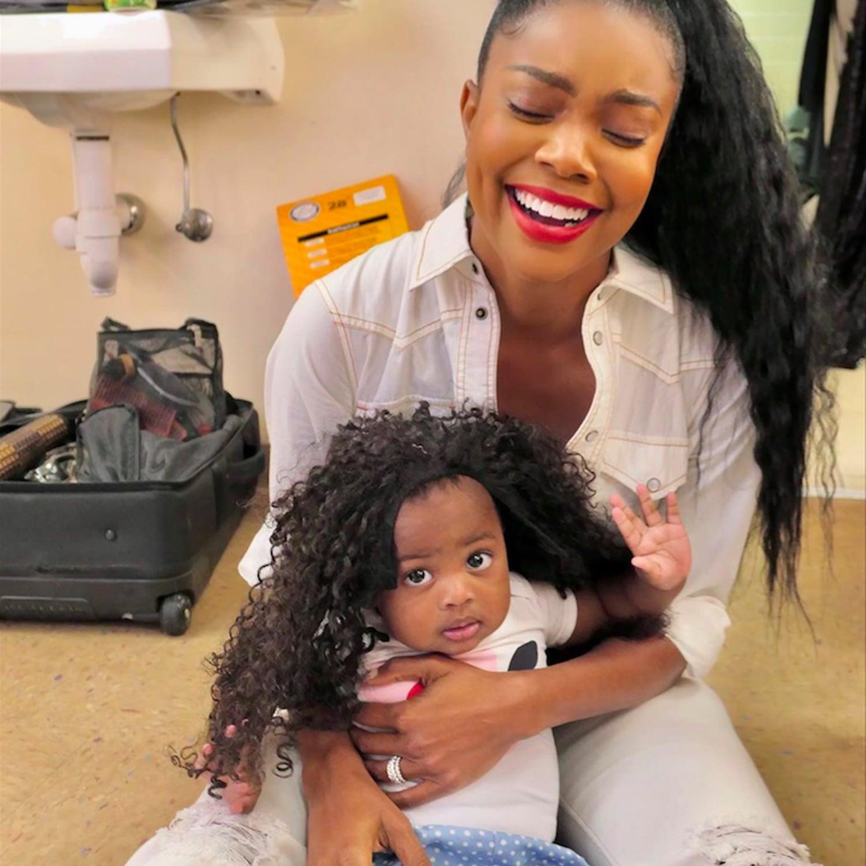 Gabrielle Union's Daughter, Kaavia James Is The Sweetest Girl As Santa Little Helper