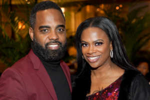 Todd Tucker Calls Fans And Followers To Vote - See Him And Kandi Burruss In This Photo