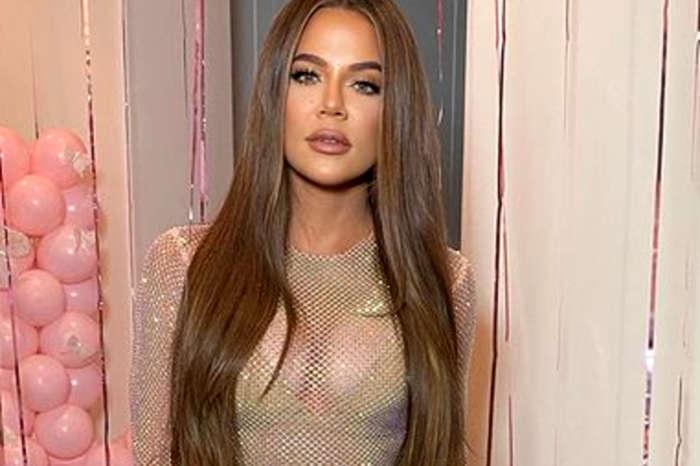Khloe Kardashian Showcases Her Hourglass Figure In A Bra And Skintight Leggings