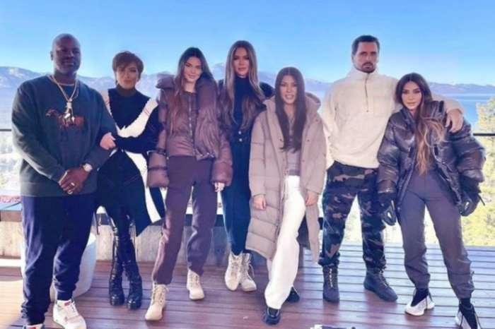Was Kourtney Kardashian Photoshopped Into Kim Kardashian's Family Photo?