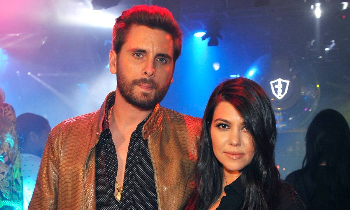 Scott Disick Praises His Baby Mama, Kourtney Kardashian - See His Message For Her