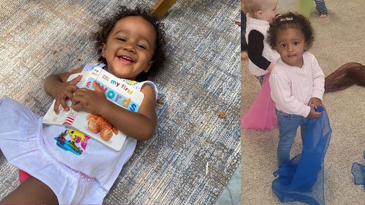 Kenya Moore's Baby Girl, Brooklyn Daly Look Like A Little Angel - See Her Photo