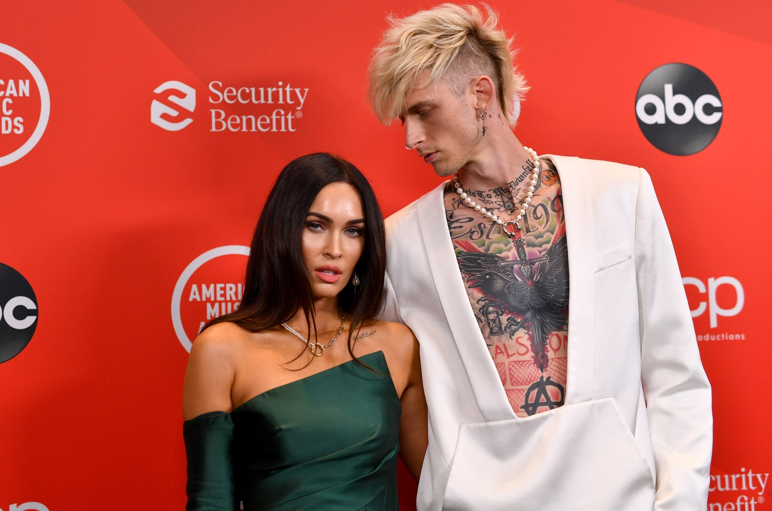 Megan and MGK
