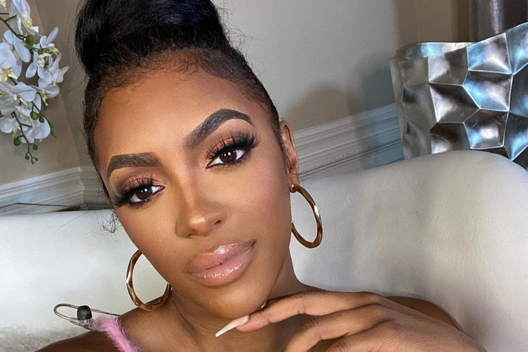 Porsha Williams Talks About Relationships In Quarantine Time - Check Out Her Podcast