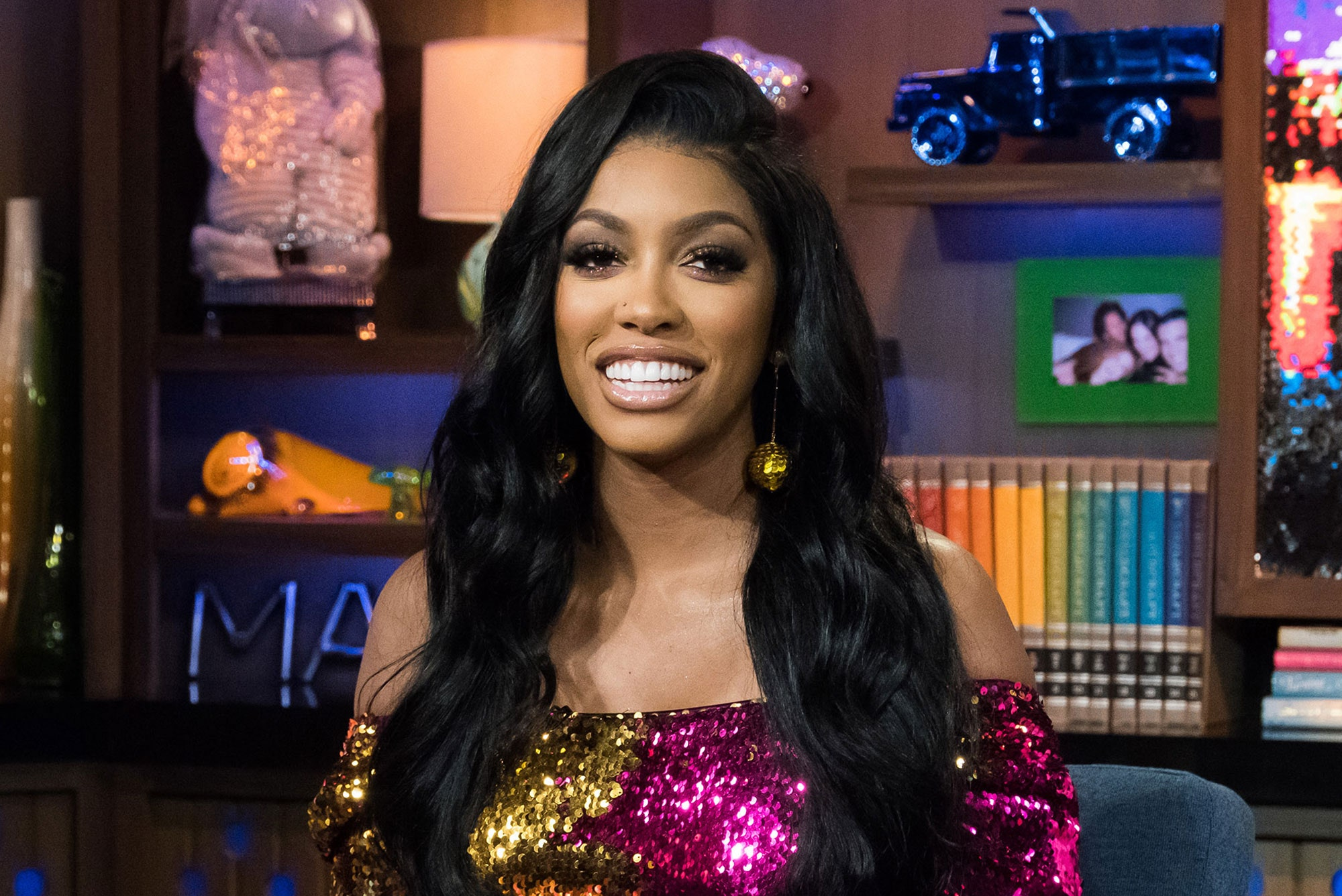 Porsha Williams's Fans Are Completely In Love With Her Line Of Sheets - See Her Video